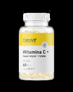 OstroVit Vitamin C + Hesperidin + Rutin 60 kapsulas