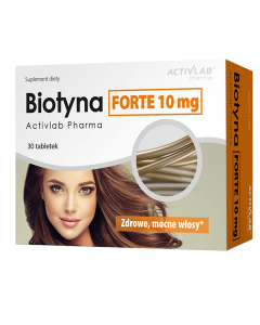 Activlab Biotyna Forte 10mg 30kps