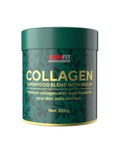 ICONFIT Collagen Superfoods + Inulin (250g)